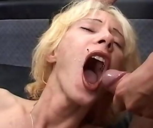 German MILF in Bukkake..