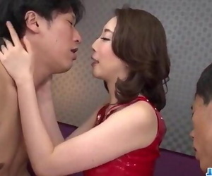 Asian wife Aya Kisaki loves..