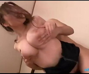 Office Lady With Huge Tits..