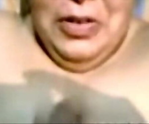 Indian Aunty Blowjob And Cum..