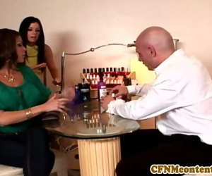 Cfnm female domination..