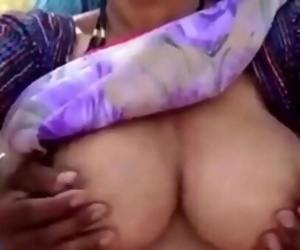 Big boobs desi aunty screwed..