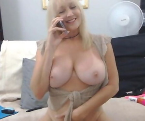 Playful Mature Blonde with..