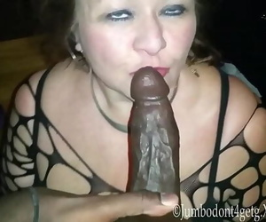 Granny The Big black cock..