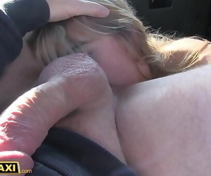 Fake Taxi Horny Dutch MILF..