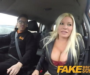 Fake Driving School spraying..