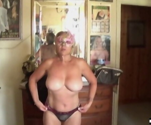 Italian Busty Mom over 50..