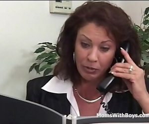Mature Office Pound With..