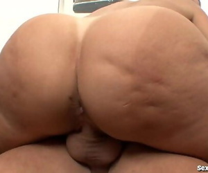 Horny MILF Jaw-dropping Cock!