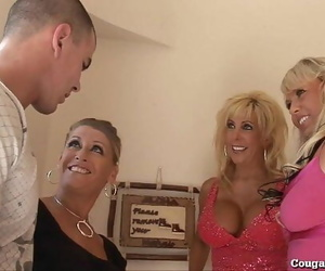 3 Naughty MILFs Go Naughty..