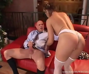 Cheating MILF Fucks Husbands..