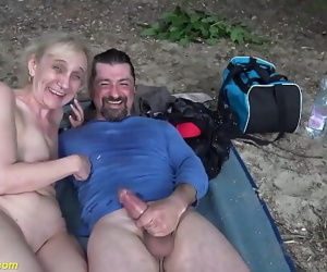 cruel outdoor sex for 85..