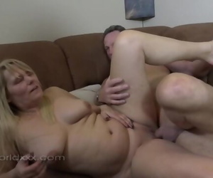 Lush Blond and Some Older Dick