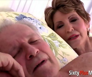 Big-ass granny gets fucked..