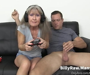 Video Gaming Granny Gets Fat..